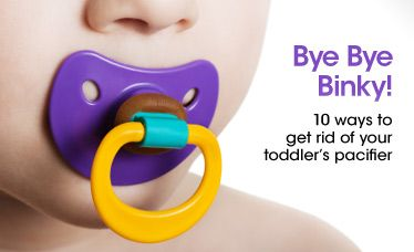 Not sure how to get your kid to quit the binky? Babble lists 10 tried-and-true pacifier-weaning methods.