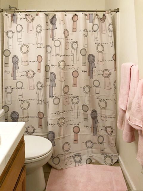Horse Show Ribbons Equestrian Themed Shower Curtain In 2018