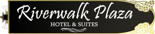 Riverwalk Plaza Hotel & Suites... So excited to go with my guy :]]]