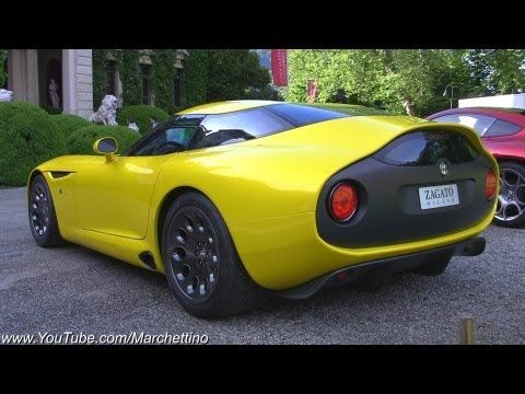 Alfa Romeo TZ3 Zagato V10 Exhaust Sound! - YouTube