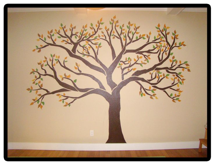 family tree mural smaller