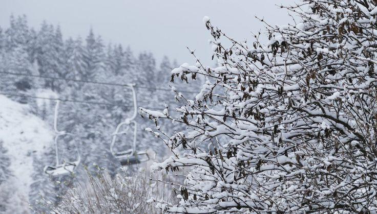 Der erste Schnee in Nauders am Reschenpass, Vorfreude auf den Winterurlaub
