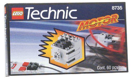 LEGO Technic Set 8735 9 Volt Motor