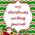 Give your students a copy of this writing journal to take home for the holidays. Ask them to tell you all about Christmas Eve, Christmas Day, New Y...