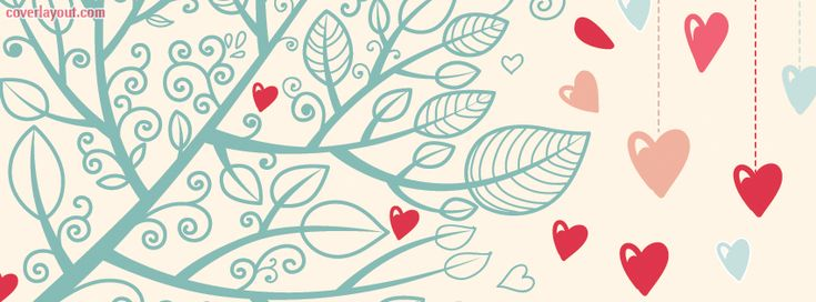 Heart Tree Facebook Cover CoverLayout.com