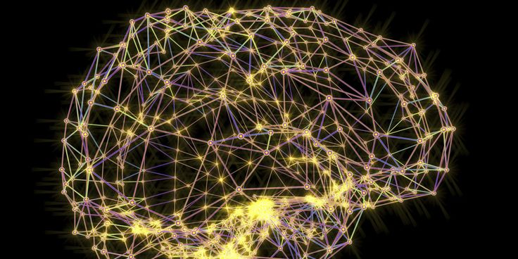Scientists have found that the brain's activities, when graphed through algebraic topology, forms a complex theoretical geometric solid.  http://www.popularmechanics.com/science/math/a27942/brain-eight-dimensions/