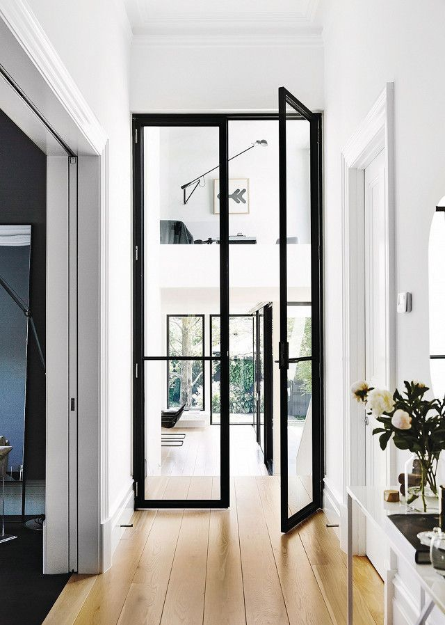 25 best ideas about interior glass doors on pinterest for All glass french doors