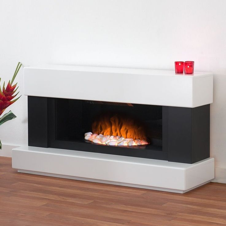 verona white and grey electric fire fireplace world - Free Standing Electric Fireplace