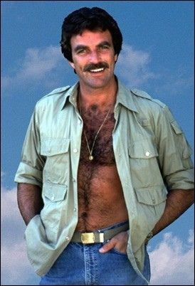 Tom Selleck is the hottest shirtless actor detective that tv ever had   Flickr - Photo Sharing!