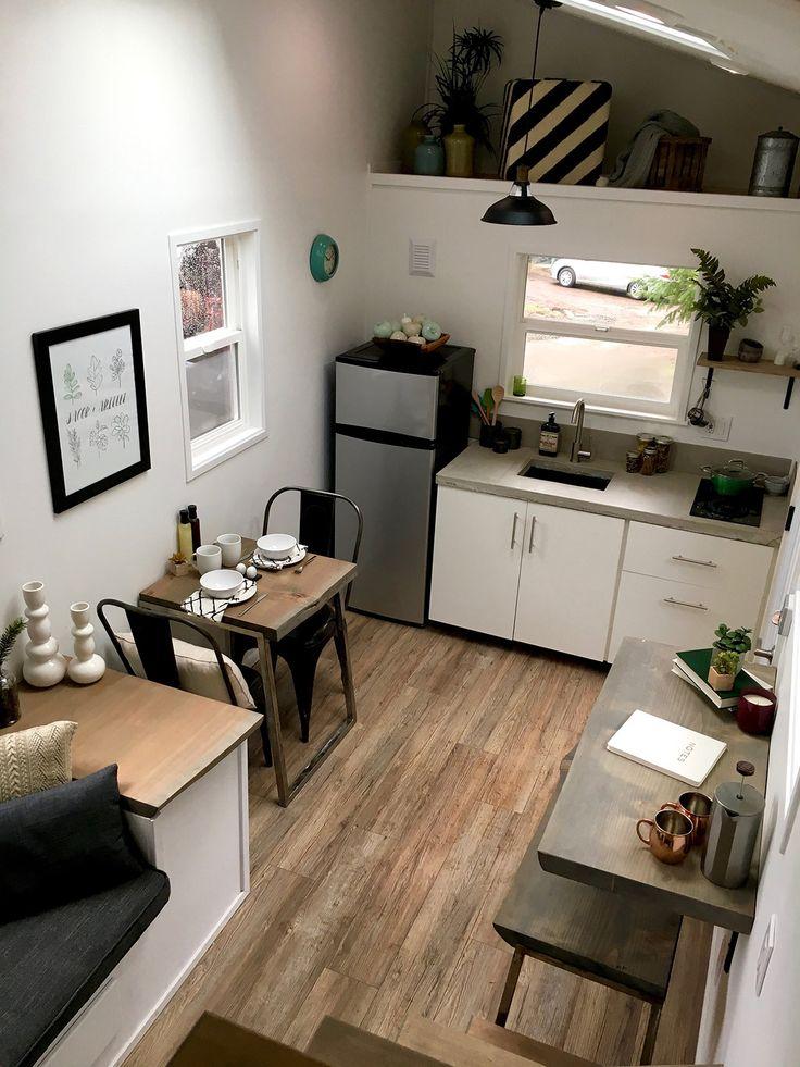 Contemporary U2013 Tiny Heirloom Luxury Custom Built Tiny Homes · Tiny Home Floor  PlansHouse ...
