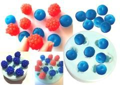 Can you believe this is soap - Berries Silicone Mould made and designed exclusively by Renascent Bath and Body