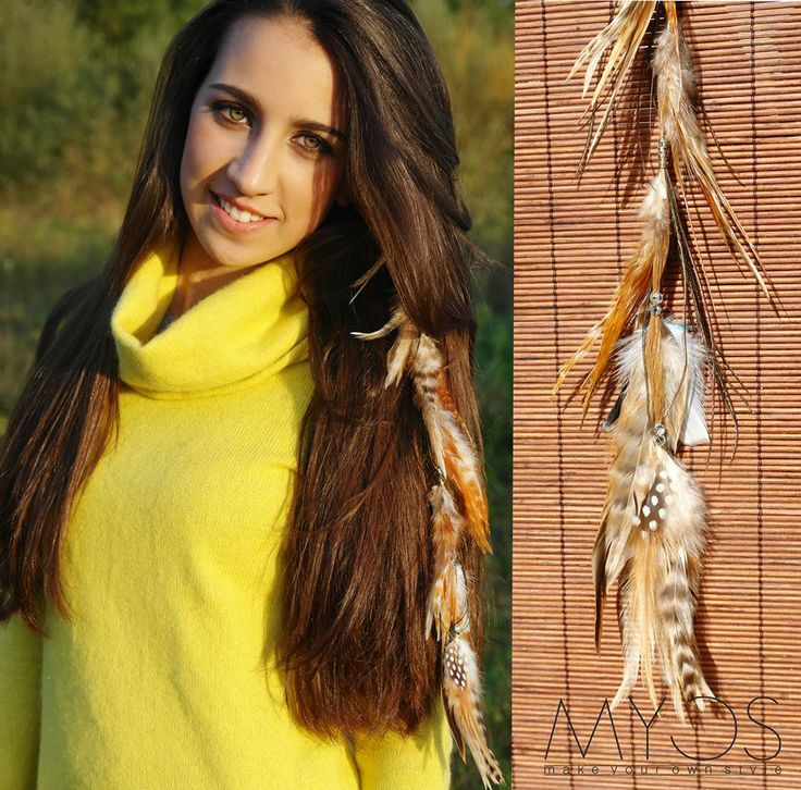 Feathers Extension - With natural and carefuly selected feathers