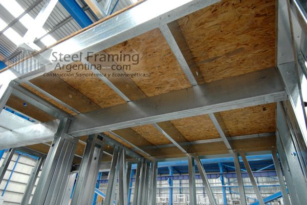 Entrepiso en Steel Framing
