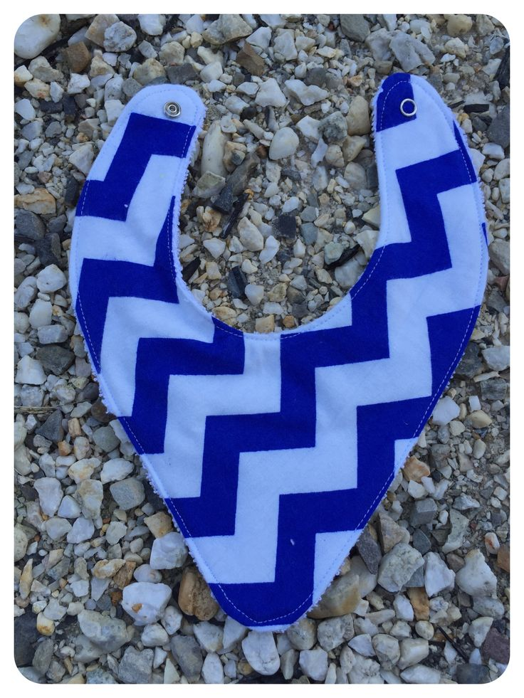 Dark Blue Chevron.  Flannelette Front and Cotton Back. $2 1 in Stock.