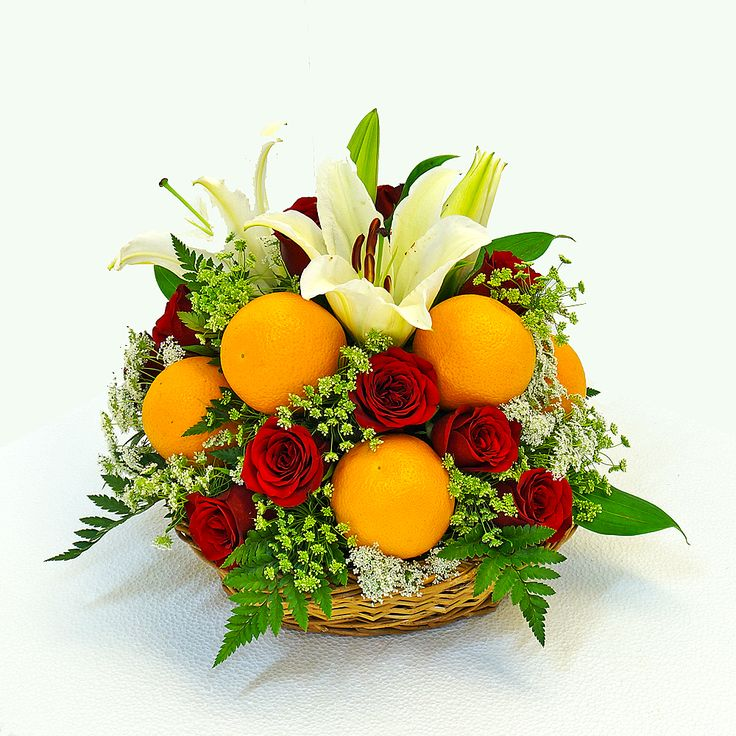 Oranges Fruit Basket