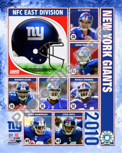 New York Giants Players | 2010 New York Giants Team Composite Photo at AllPosters.com