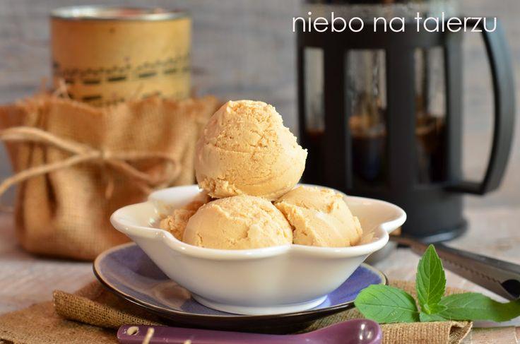 niebo na talerzu: Bardzo dobre domowe lody kawowe