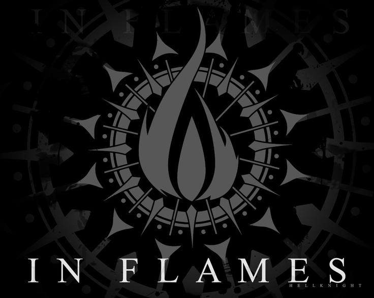 In Flames. Обоина с рабочего рабочего стола :)