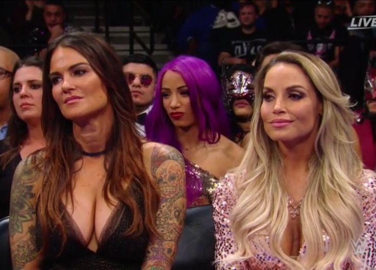 MEETING WWE HALL OF FAMES TRISH STRATUS & LITA + JULIE