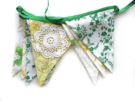 RETRO Vintage AUSTRALIA DAY Green / Yellow by MerryGoRoundHANDMADE, $30.95