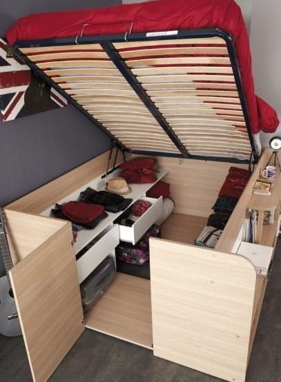 Tiny House Storage Ideas ❤ Tiny House Websites - indoorlyfe.com