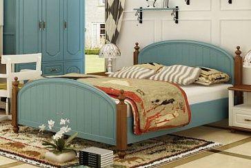 Кровать 2-спальная В комплект кровати входят: каркас кровати с реечной рамой, изголовье, изножье. Рекомендуемые размеры матраса - 1500х2000 мм. Матрас в комплект не включен