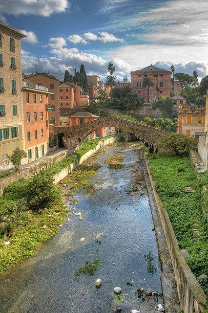 Nervi, Liguria, Italy- Il ponte romano