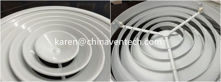 Air conditioner louver Floor vent cover round ceiling diffuser