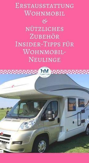 Erstausstattung Wohnmobil & nützliches Zubehör – Insider-Tipps für Wohnmobil-… – Heike Waschlowsky