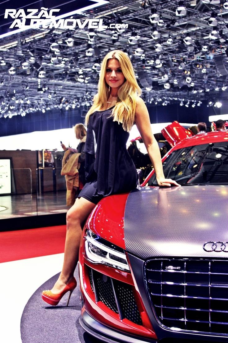 Audi r8 gtr abt sal o internacional do autom vel de genebra 2013 geneva motor show
