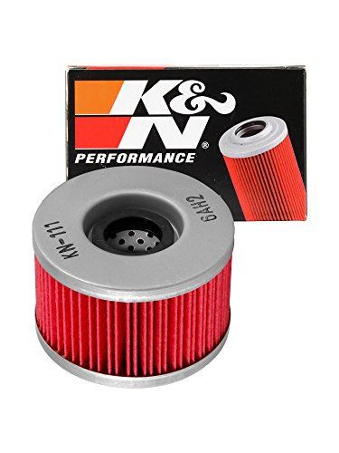 http://motorcyclespareparts.net/kn-kn-111-honda-powersports-high-performance-oil-filter/K&N KN-111 #Honda Powersports High Performance Oil Filter