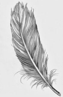 quil feather tattoo - Google Search