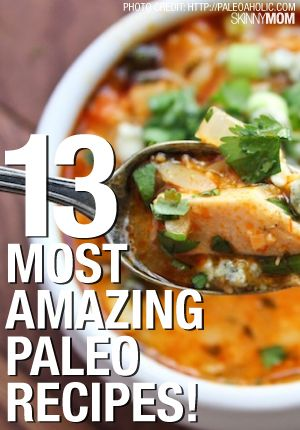 Recipes for those of us eating a Paleo diet.