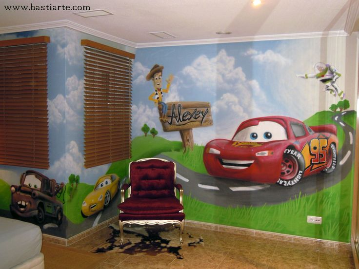 56 best images about bedroom cars theme on pinterest for Disney pixar cars bedroom ideas