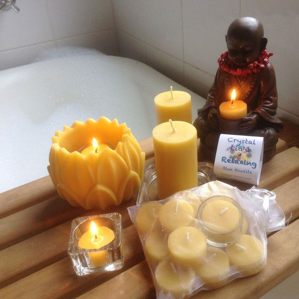 Relax collection. A special gift pack of beeswax candles... for you.
