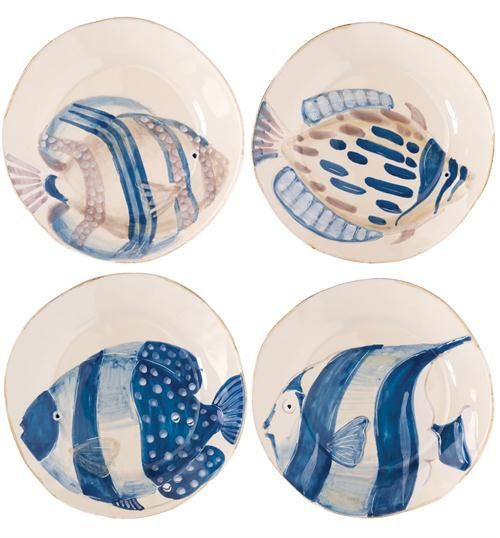 Transitional Dinnerware from Vietri, Model: Adriatic Collection