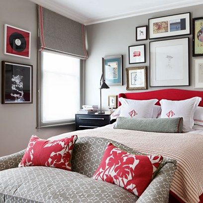Anatomy of a Bedroom: Bunny Turner's Home-bed gallery wall...