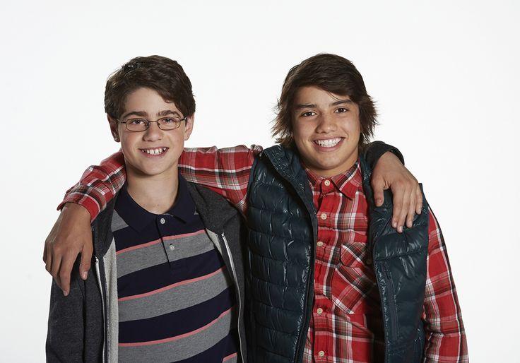Jake Goodman and Jonny Gray;Max and Shred