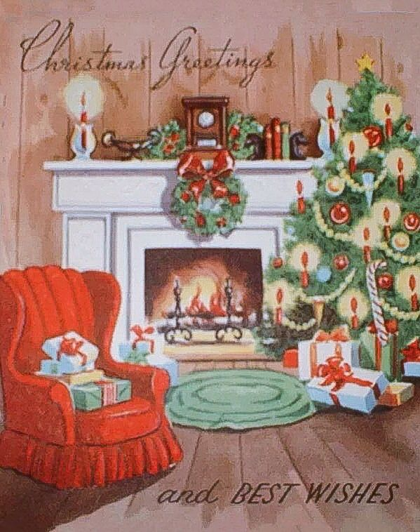 123 best Christmas - Fireplaces images on Pinterest ...
