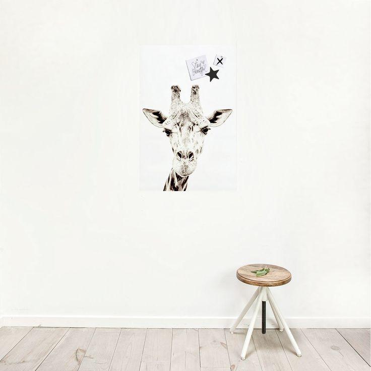 Magnetische Poster Giraf Van Groovy Magnets
