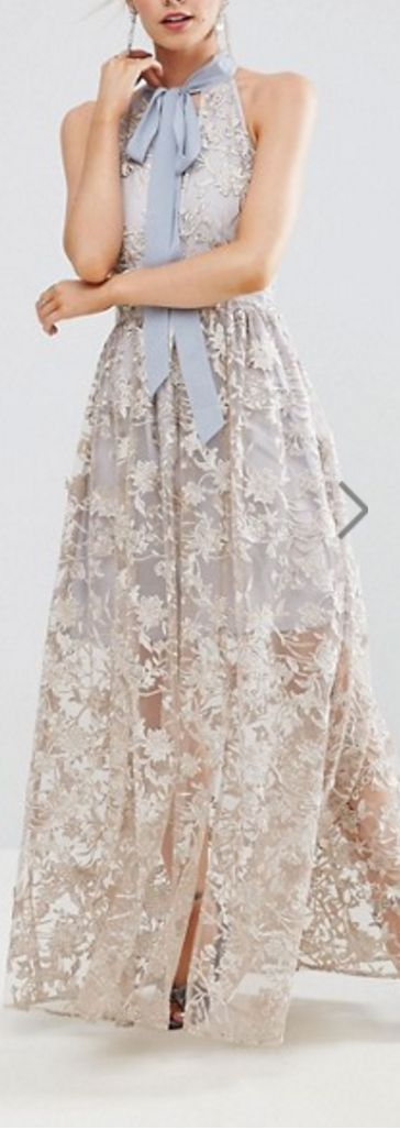 floral sequined dress