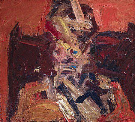 Frank Auerbach, Portrait of Julia