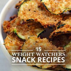 15 Weight Watchers Snack Recipes that you will love! #weightwatchersrecipes #recipeswithlowpoints