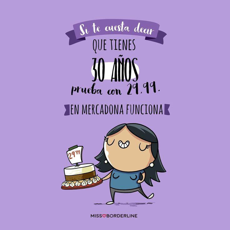Si te cuesta decir que tienes 30 años, prueba con 29,99. En Mercadona funciona! #humor #funny #divertidos #chistes #imagenes #graciosas