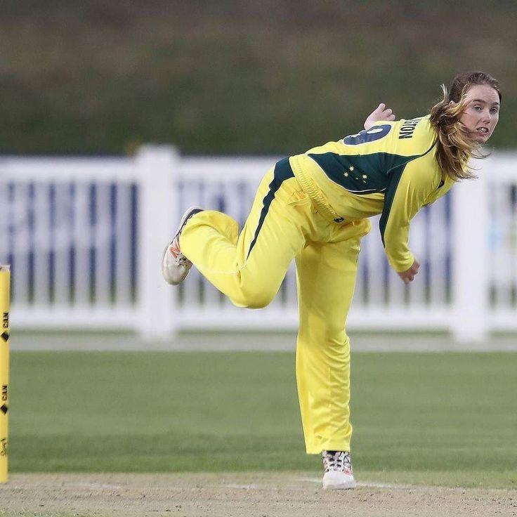 Amanda-Jade Wellington (b 1997) Australian cricketer; self-taught leg spin bowler; debuted in Women's One Day International cricket (WODI) (2016 and Women's Twenty20 International cricket (WT20I) and Test (2017) http://cricket.com.au/players/