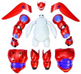 Big Hero 6 Baymax Armor Action Figure