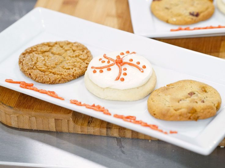 Cinnamon Chip, Cranberry and Pecan Cookies recipe from Holiday Baking Championship via Food Network