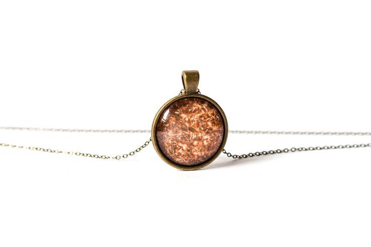 Naszyjnik ze złotą trawą / Golden Grass Necklace