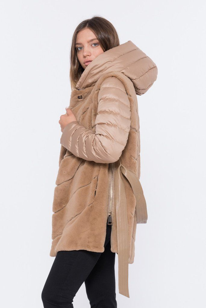 What's better than 1 luxe coat? 2! - and that's exactly what the CAMMELLO is. This reversible fur coat is available with Free Shipping! Shop Now - SHACIFUR.com