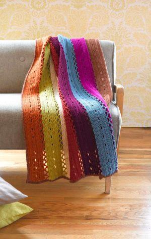 crochet afghan // free pattern